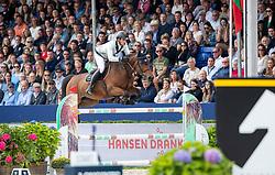 Philippaerts Nicola, BEL, Extase Ste Hermelle<br /> CHIO Aachen 2021<br /> © Hippo Foto - Sharon Vandeput<br /> 26/09/21