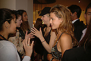 MARGOT STILLEY AND FRANCESCA VERSACE, Party to Celebrate opening of New Diesel Store on 130 Bond St.  at store and afterwards at Victoria House, Bllomsbury Sq. 18 May 2006. ONE TIME USE ONLY - DO NOT ARCHIVE  © Copyright Photograph by Dafydd Jones 66 Stockwell Park Rd. London SW9 0DA Tel 020 7733 0108 www.dafjones.com