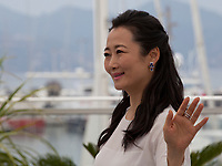 Actress Zhao Tao at the Ash Is The Purest White (Jiang Hu Er Nv) film photo call at the 71st Cannes Film Festival, Saturday 12th May 2018, Cannes, France. Photo credit: Doreen Kennedy