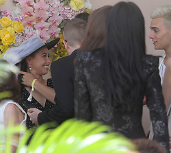 Celebrities attend Tipple - Derby Day at Ascot Racecourse in Perth, Western Australia. 03 Nov 2018 Pictured: Brooke Blurton. Photo credit: FM/MEGA TheMegaAgency.com +1 888 505 6342