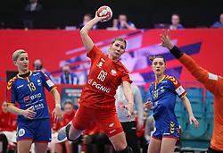 KOLDING, DENMARK - DECEMBER 5: Joanna Szarawaga during the EHF Euro 2020 Group D match between Poland and Romania in Sydbank Arena, Kolding, Denmark on December 5, 2020. Photo Credit: Allan Jensen/EVENTMEDIA.