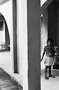 REYNOSA, MEXICO – JULY, 2007: Children at play in an orphanage.