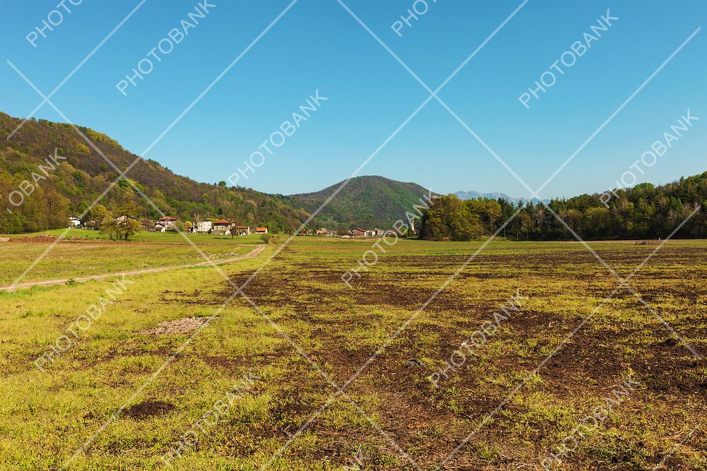 Countryside landscape, nobody