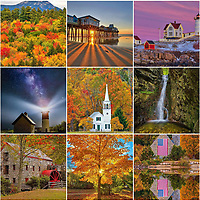 Professional hands-on New England photography workshops of lighthouses, landscapes, seascapes, waterfalls, Boston skyline, Cape Cod and Cape Ann. Photo workshops are designed for creating better New England photo images in a fun atmosphere.