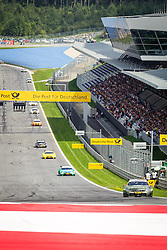 03.08.2014, Red Bull Ring, Spielberg, AUT, DTM Red Bull Ring, Renntag, im Bild Robert Wickens, (CAN,1. Platz Qualifying, FREE MAN'S WORLD Mercedes AMG C-Coupe), Augusto Farfus, (BRA, 2. Platz, Rennen, Castrol EDGE BMW M4 DTM), Timo Glock, (GER, 3. Platz, Rennen, Deutsche Post BMW M4 DTM) // during the DTM Championships 2014 at the Red Bull Ring in Spielberg, Austria, 2014/08/03, EXPA Pictures © 2014, PhotoCredit: EXPA/ M.Kuhnke