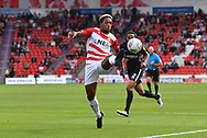 Doncaster Rovers forward Mallik Wilks (7)  during the EFL Sky Bet League 1 match between Doncaster Rovers and Portsmouth at the Keepmoat Stadium, Doncaster, England on 25 August 2018.Photo by Ian Lyall.