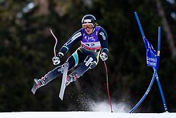 10.02.2011, Kandahar, Garmisch Partenkirchen, GER, FIS Alpin Ski WM 2011, GAP, Herren Abfahrtstraining, im Bild Kjetil Jansrud (NOR) takes to the air competing in the first men's downhill training run on the Kandahar race piste at the 2011 Alpine skiing World Championships, EXPA Pictures © 2011, PhotoCredit: EXPA/ M. Gunn
