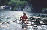 Henley, UNITED KINGDOM. Diamonds Winners, Steve REDGRAVE. 1988 Henley Royal Regatta, Henley Reach. [Mandatory Credit Peter Spurrier/Intersport Images]