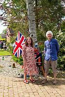 Marsh st Wilmcote village Wawickshire ,VE Day celebrations photo by Mark Anton Smith