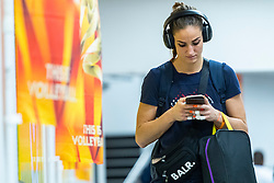 19-10-2018 JPN: Semi Final World Championship Volleyball Women day 20, Yokohama<br /> Serbia - Netherlands / Myrthe Schoot #9 of Netherlands