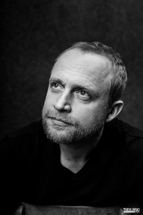 Warszawa, Polska. 11.01.2019r. Sesja portretowa Piotr Adamczyk - aktor.<br /> Fot. Adam Tuchliński dla Playboy