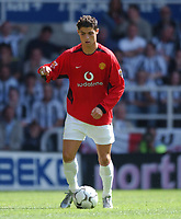Christiano Ronaldo (Manchester United) Newcastle United v Manchester United, FA Premiership, 23/08/2003. Credit: Colorsport / Matthew Impey DIGITAL FILE ONLY