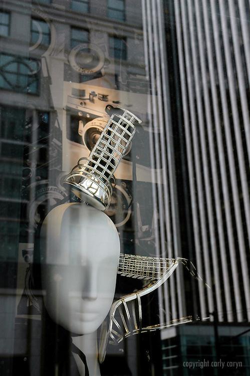 Shoes and cameras, Bergdorf Goodman 2009