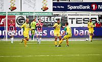 FotballFørstedivisjonTromsø IL vs Bryne12.06.2014Thomas Drage, TromsøBenny Lekström, TromsøHans Eriksen Norbye, TromsøHenrik Breimyr, BryneAram Khalili, BryneFoto: Tom Benjaminsen