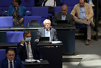 DEU, Deutschland, Germany, Berlin, 07.09.2021: Paul Victor Podolay (MdB, AfD) im Plenum des Deutschen Bundestags.