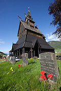 Hopperstad Stave Church near Vik, Norway. Built in 1140, Norway's second oldest stave church.
