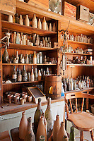 General store at Cerro Gordo, a late 19th century mining community in the Inyo Mountains near Keeler, California