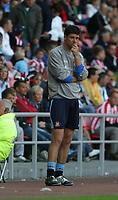 Photo: Andrew Unwin.<br /> Sunderland v Birmingham City. Coca Cola Championship. 09/08/2006.<br /> Sunderland's manager, Niall Quinn.