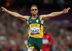 File photo dated 08/09/2012 of South Africa's Oscar Pistorius.