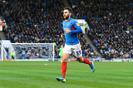 Ben Close (33) of Portsmouth during the EFL Sky Bet League 1 match between Portsmouth and Ipswich Town at Fratton Park, Portsmouth, England on 21 December 2019.