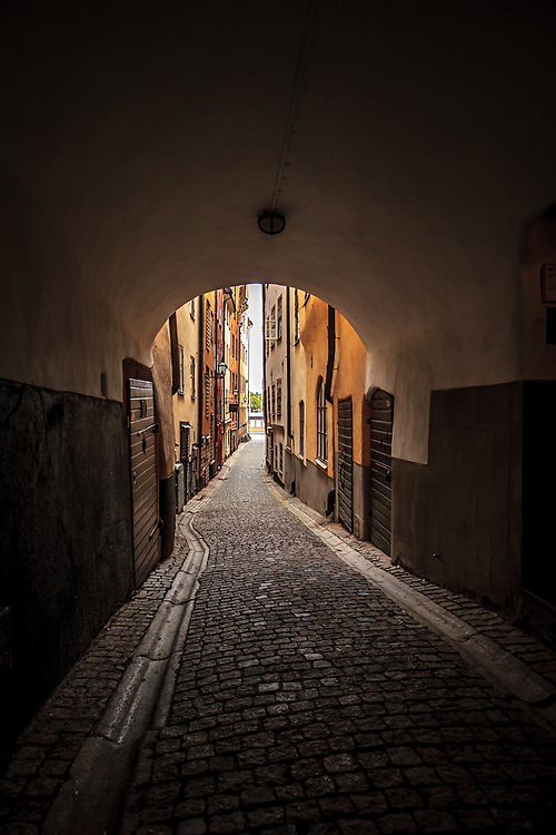 Stora Hoparegränd (Larger Hopare Alley) is an alley in Gamla stan, the old town of Stockholm, Sweden. Hoparegränd is named after a Michel Hoper (or Hopare) who owned property in the alley during the first half of the 16th century.