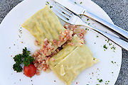 Schwäbische Maultaschen, Essen, Food, Baden-Württemberg, Deutschland