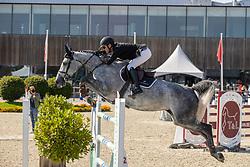 Timmerman Stijn, BEL, Bling vd Duvelshoeve Z<br /> Belgian Championship 7 years old horses<br /> SenTower Park - Opglabbeek 2020<br /> © Hippo Foto - Dirk Caremans<br />  13/09/2020
