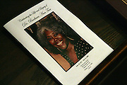 Atmosphere at the Celebration of the Life and Legacy of Dr. Barabara Ann Teer at the Memorial Service held at The Riverside Drive in Harlem, NY on Monday, July 28, 2008