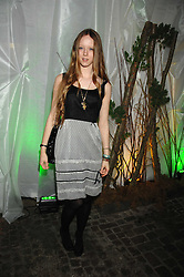 Model MORWENNA LYTTON COBBOLD at the launch Beyond The Rave - Hammer's first horror movie in 30 years, held at Shoreditch House, London on 16th April 2008.<br />