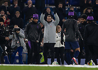 Football - 2018 / 2019 EFL Carabao Cup (League Cup) - Semi-Final, Second Leg: Chelsea (0) vs. Tottenham Hotspur (1)<br /> <br /> Gonzola Higuain is introduced to the crowd before kick off at Stamford Bridge <br /> <br /> COLORSPORT/DANIEL BEARHAM