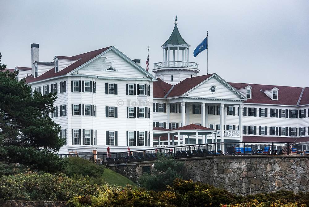 The Colony Hotel, Kennebunkport, Maine, USA.