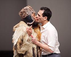 Tanztheater Wuppertal Pina Bausc<br /> Masurca Fogo, created bh <br /> 'Masurca Fogo' <br /> at Sadler's Wells, London, Great Britain <br /> rehearsals<br /> 8th February 2017 <br /> <br /> Tanztheater Wuppertal Pina Bausch: Masurca Fogo <br /> Regina Advento & Daphnis Kokkinosy the endlessly inventive Pina Bausch, returns to Sadler's Wells from 9 - 12 February 2017. The piece is performed by the legendary Tanztheater Wuppertal Pina Bausch, a Sadler's Wells International Associate Company.<br /> <br /> <br /> <br /> <br /> Performers:<br /> Regina Advento, Pablo Aran Gimeno, Emma Barrowman, Rainer Behr, Andrey Berezin, Michael Carter, Çağdaş Ermis, Silvia Farias Heredia, Jonathan Fredrickson, Ditta Miranda Jasjfi, Daphnis Kokkinos, Cristiana Morganti, Breanna O'Mara, Nazareth Panadero, Julie Shanahan, Oleg Stepanov, Julian Stierle, Fernando Suels Mendoza, Aida Vainieri, Ophelia Young.<br /> <br /> Photograph by Elliott Franks <br /> Image licensed to Elliott Franks Photography Services