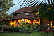 The Norfolk Hotel, one of the best known luxury hotels in Nairobi, and steeped in colonial history. Nairobi, Kenya