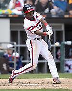 CHICAGO - MAY 05:  Tim Anderson #7 of the Chicago White Sox bats against the Boston Red Sox on May 5, 2019 at Guaranteed Rate Field in Chicago, Illinois.  (Photo by Ron Vesely)  Subject:  Tim Anderson