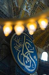 THEMENBILD - Hagia Sophia. Istanbul, früher Konstantinopel, ist die größte Stadt der Türkei. Sie liegt am Bosporus und liegt am Schnittpunkt von Asien und Europa. Aufgenommen am 04.03.2016 in Istanbul, Türkei // Ayasofya. Istanbul, former Constantinople, is the biggest City of Turkey. Turkey on 2016/03/04. EXPA Pictures © 2016, PhotoCredit: EXPA/ Michael Gruber