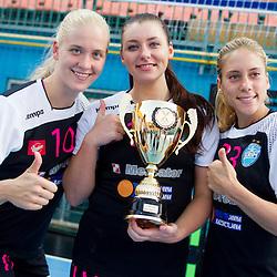 20150829: SLO, Handball - Super Cup Women, RK Krim Mercator vs ZRK Zelene doline Zalec