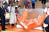 Maxima verricht opening Prinses Maxima Centrum voor Kinderoncologie