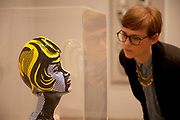 London, UK. Monday 18th February 2013. Lichtenstein: A Retrospective at  Tate Modern brings together 125 of artist Roy Lichtenstein's most definitive paintings and sculptures. Head With Blue Shadow (1965)