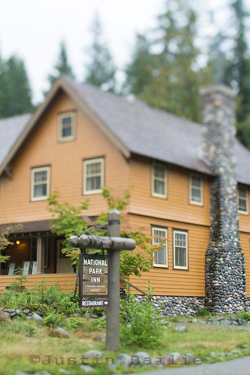 National Historic Landmark District at Longmire on the southwest side of Mt. Rainier National Park