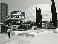 1968 Cinerama Dome Theater on Sunset Blvd.
