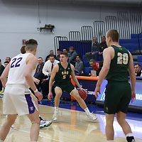 Men's Basketball: St. Norbert College Green Knights vs. University of St. Thomas (Minnesota) Tommies