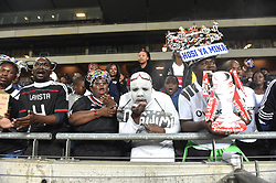 South Africa: Gauteng: Orlando Pirates supporters after their team lost 1-0 to Bidvest Wits during the Absa Premiership at orlando stadium, Johannesburg.<br />Picture: Itumeleng English/African News Agency (ANA)