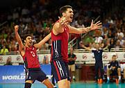USA Volleyball - 2015 FIVB World League, Iran versus United States, Galen Center, USC, Los Angeles, CA.<br /> May 30th, 2015<br /> Copyright  Don Liebig<br /> 150530_USAVB_590.NEF