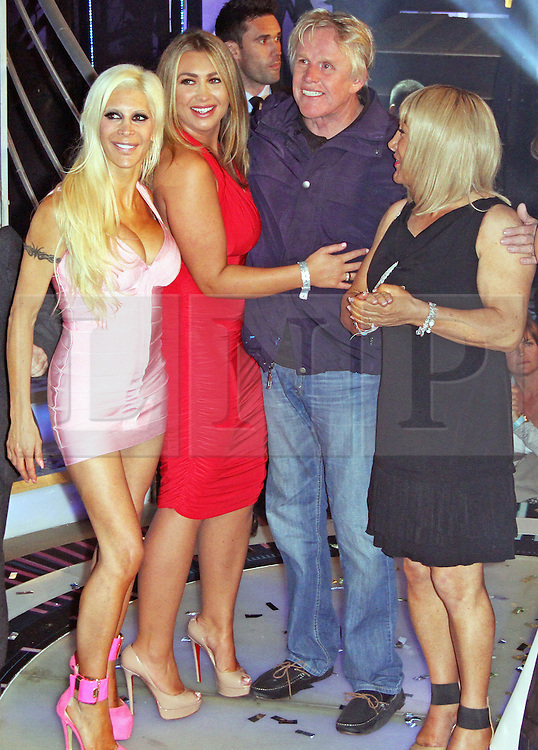 © Licensed to London News Pictures. 12/09/2014, UK. Angelique 'Frenchy' Morgan, Lauren Goodger, Gary Busey & Kelly Maloney, Celebrity Big Brother Summer 2014 - Live Final, Elstree Studios, Elstree UK, 12 September 2014,. Photo credit : Brett D. Cove/Piqtured/LNP