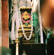 Hindu shrine, Kerala, India.
