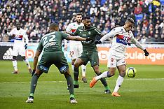 Lyon vs Saint Etienne - 25 February 2018