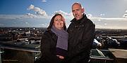 Zena & Darren's pre wedding photographs at Nottingham Castle.