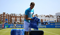 Great Britain's Jame Ward during day two of the 2017 AEGON Championships at The Queen's Club, London.