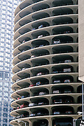 parking garage Marina City Parking Tower