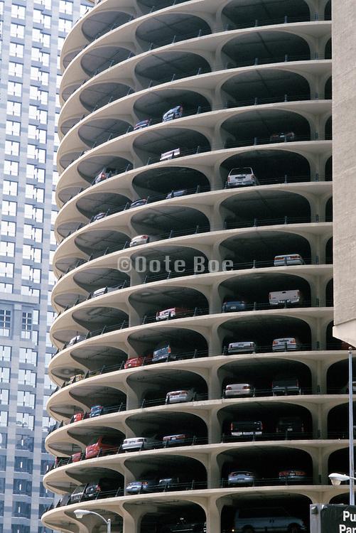 parking garage Marina City Parking Tower